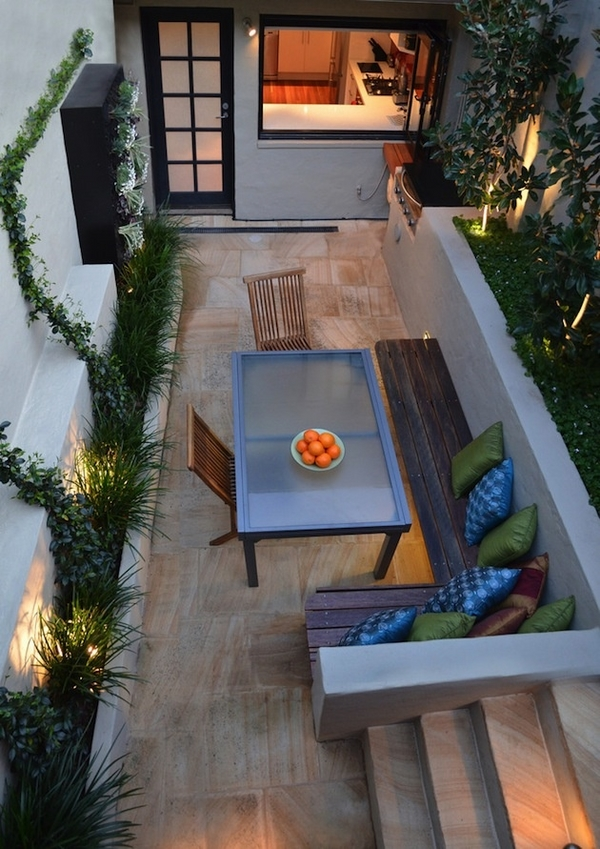 Ideas verdes para disfrutar arquitectura propiedades for Small deck seating ideas
