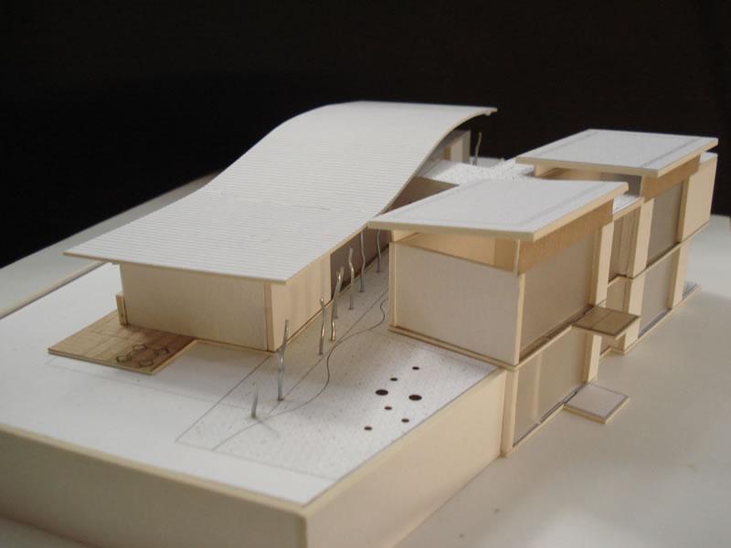 Tips para construir mi casa de vacaciones arquitectura for Casa minimalista maqueta