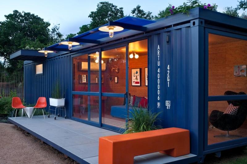 Casa container precio simple diseo de casa pequea de campo a bajo precio construccin construye - Precio casa container ...